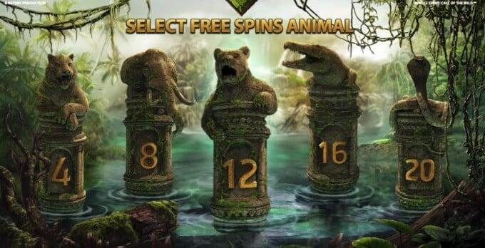 Jungle Spirit slot free spins