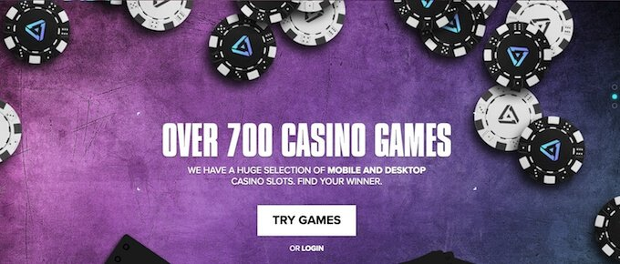 700+ games at Kaboo casino