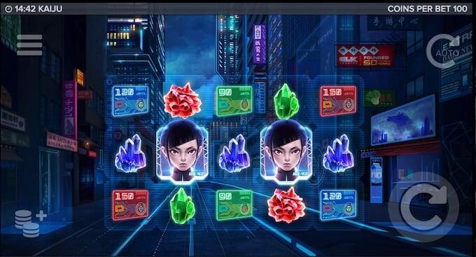Kaiju slot_base game