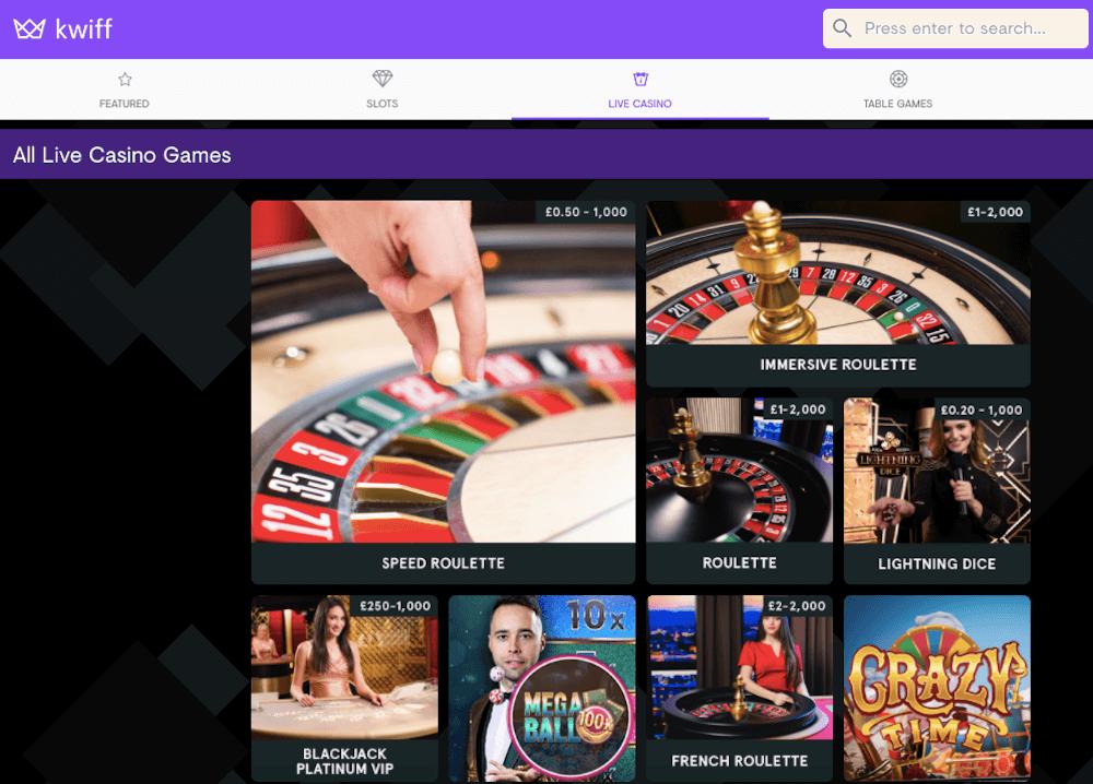 kwiff casino review