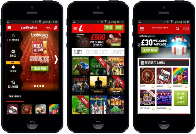play ladbrokes mobile caisno