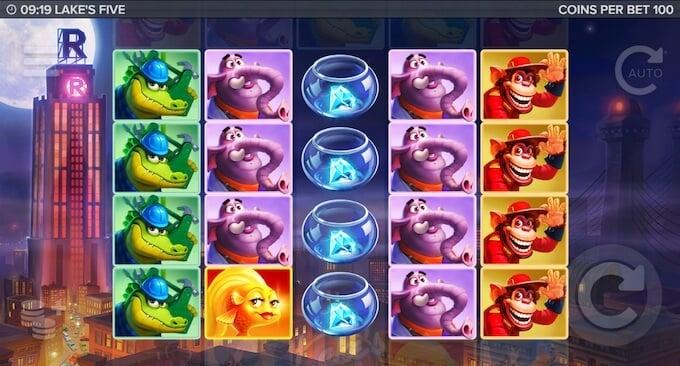 Lakes Five slot basegame