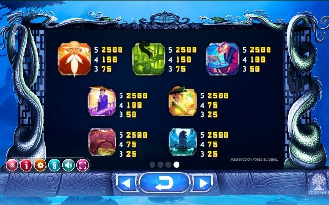 Play Legend of the White Snake Lady slot at LeoVegas casino