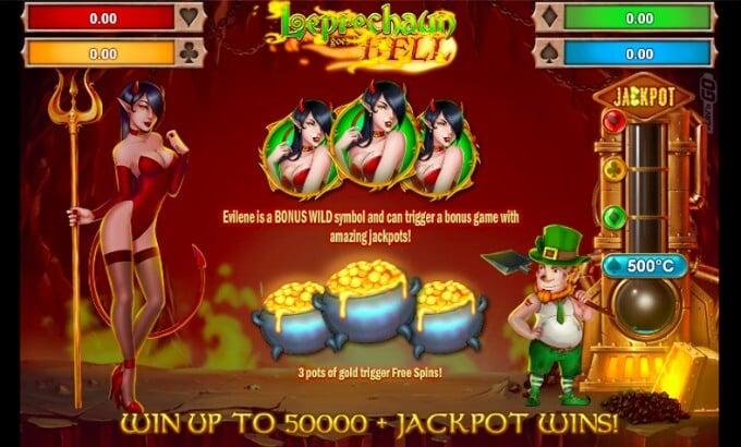 Win Leprechaun Goes to Hell slot at Maria Casino