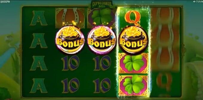 Play Leprechaun Hills slot at Mr Green casino