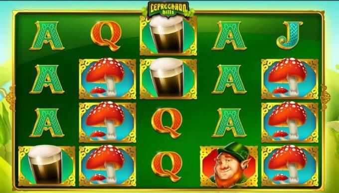 Play Leprechaun Hills slot at Dunder Casino