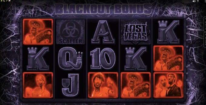 Play Lost Vegas slot at Dunder casino