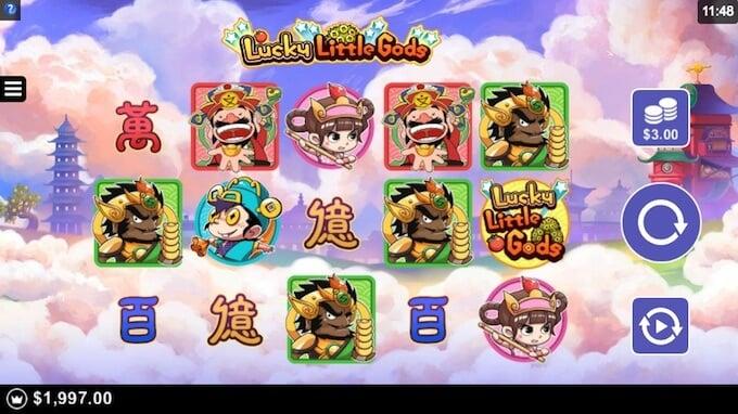 Lucky Little Gods slot review