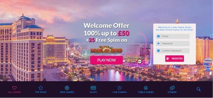 LuckyVegas Casinohawks review