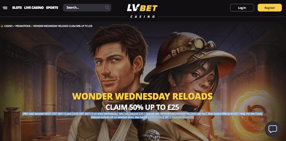 lvbet UK bonus