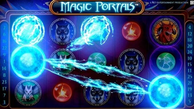 Play Magic Portals at Dunder casino