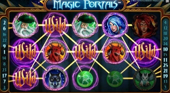 Play Magic Portals at Casumo Casino