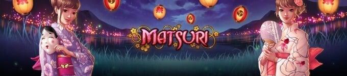 Play Matsuri slot at Dunder Casino