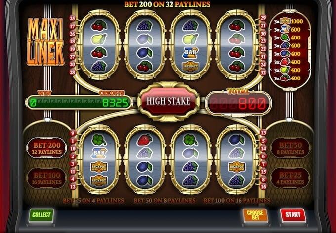 Maxilinier slot - Imagina Gaming