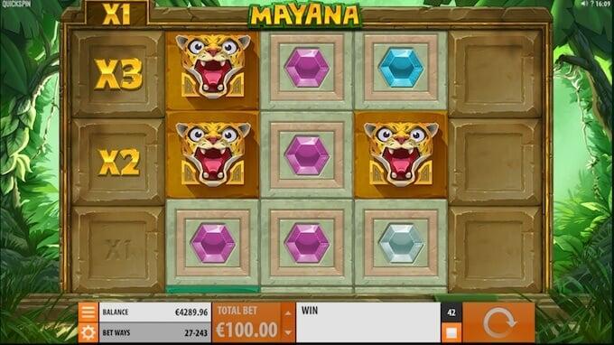 Play Mayana slot today