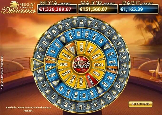 Play Mega Fortune Dreams slot at Casumo Casino