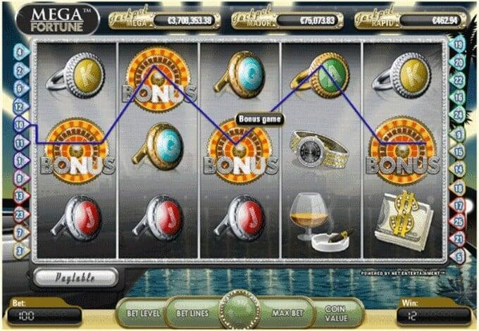 Play Mega Fortune slot at Mr Green casino