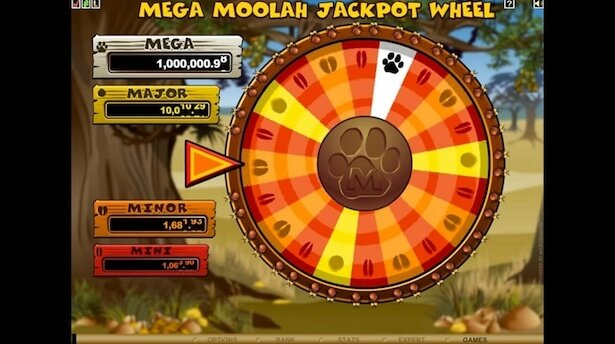 Play Mega Moolah on Instacasino