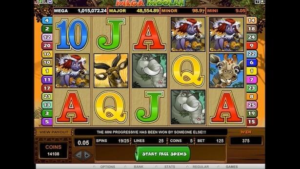 Play Mega Moolah on LeoVegas casino