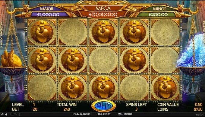 Mercy of the Gods slot jackpot bonus