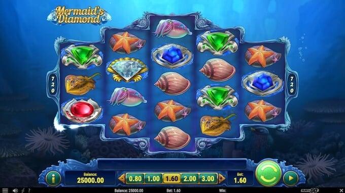 Play Mermaid's Diamond slot
