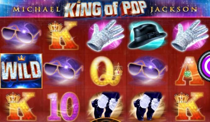 Play Michael Jackson: King of Pop slot at Mr Smith Casinno