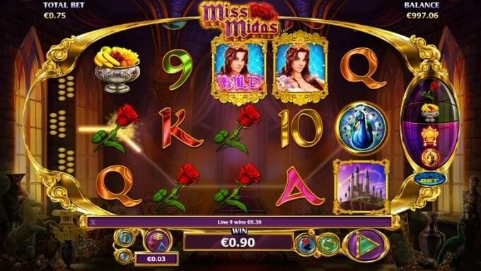 Play Miss Midas slot at Casumo casino