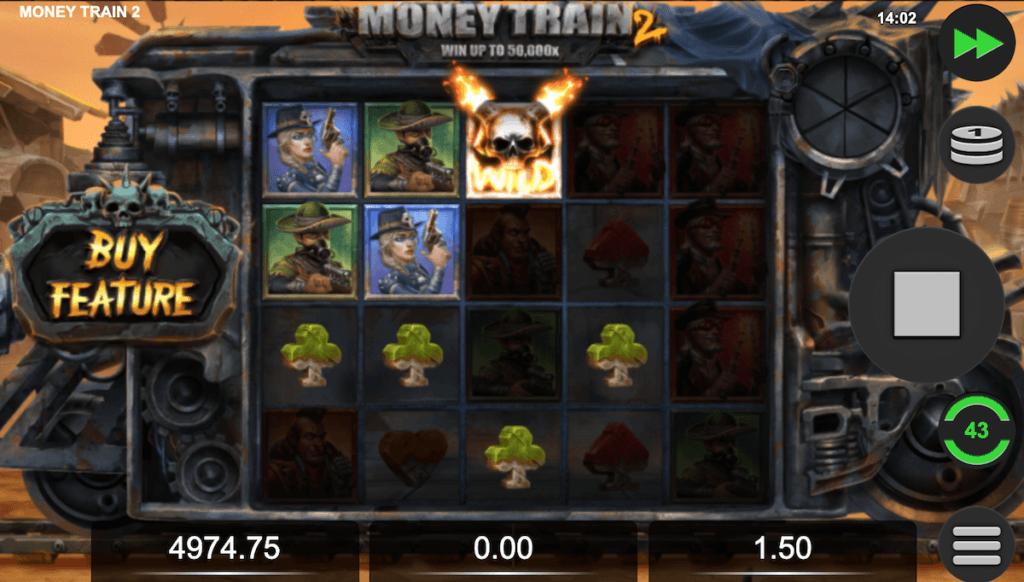 Money Train 2 slot wilds