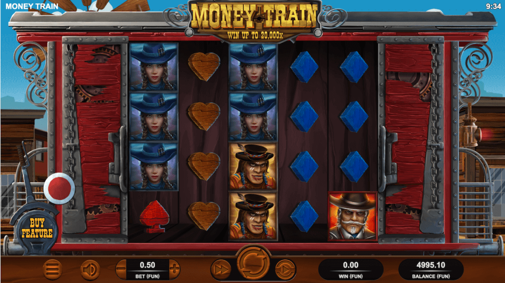 Money Train Slot symbols