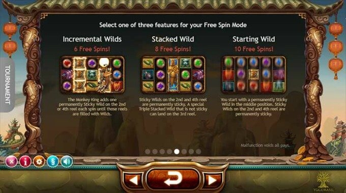 Get Legend of the Golden Monkey slot free spins on ComeOn! casino