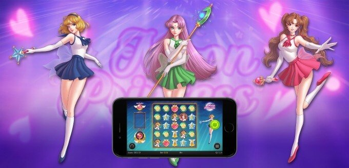 Moon Princess slot - play at Dunder casino soon
