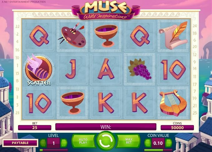 Play Muse slot at LeoVegas casino