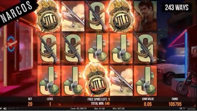 Narcos slot by NetEnt