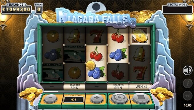 Niagara Falls bonus feature
