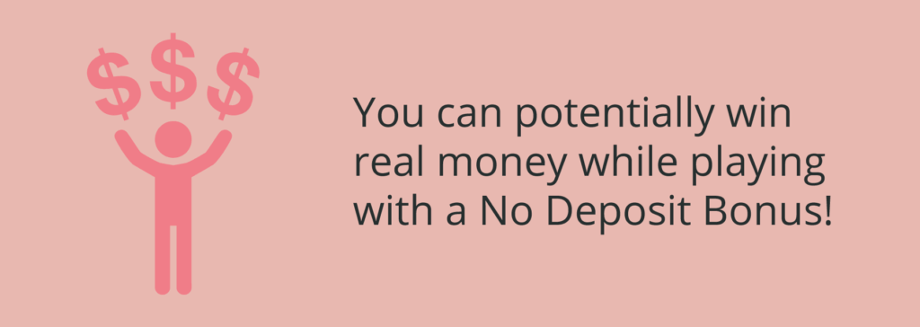 win real money with a no deposit