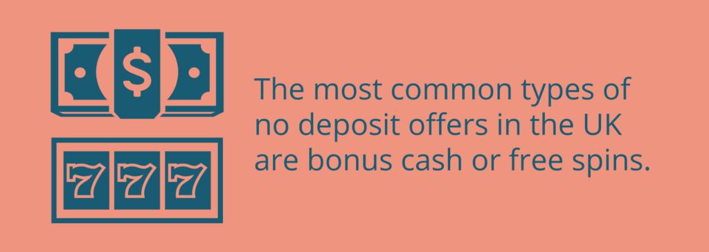 bonus cash and free spins no deposit