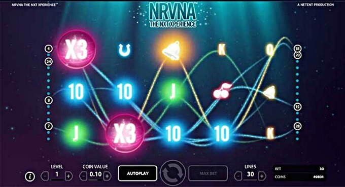 Play NRVNA slot at Casumo Casino