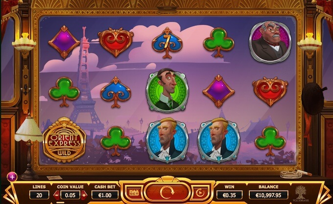 Try Orient Express slot today!