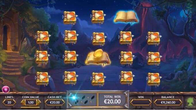 Ozwin's Jackpot bonus game