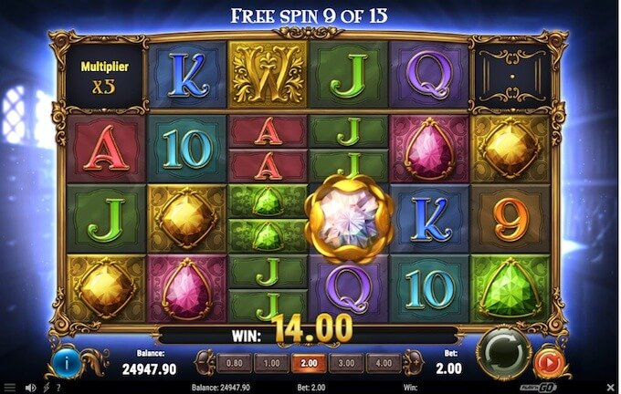 Perfect Gems slot free spins