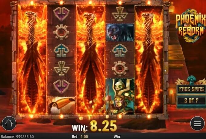 Phoenix reborn slot review