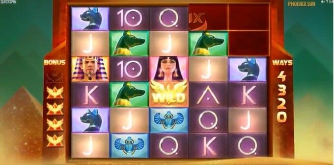 Play Phoenix Sun slot at Casumo casino