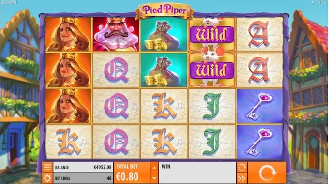 Pied Piper slot base game