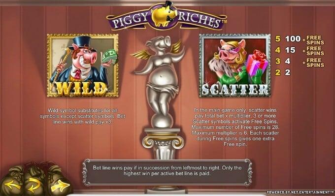 Play Piggy Riches slot at Betsafe casino