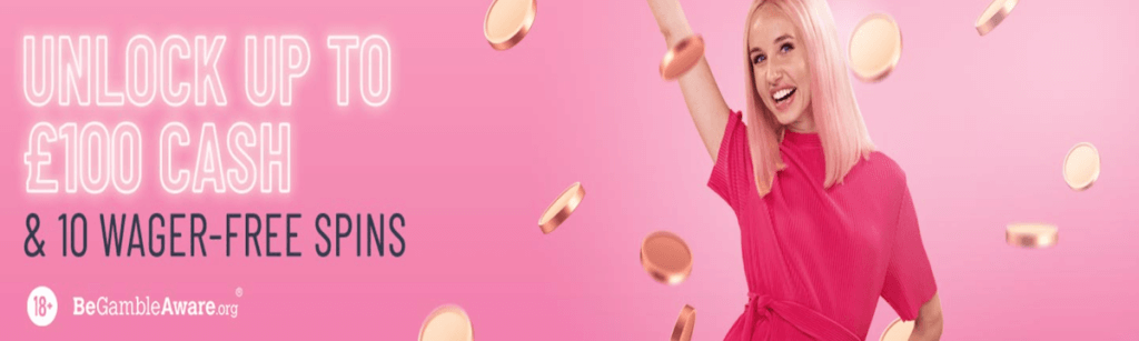 Pink Casino welcome offer