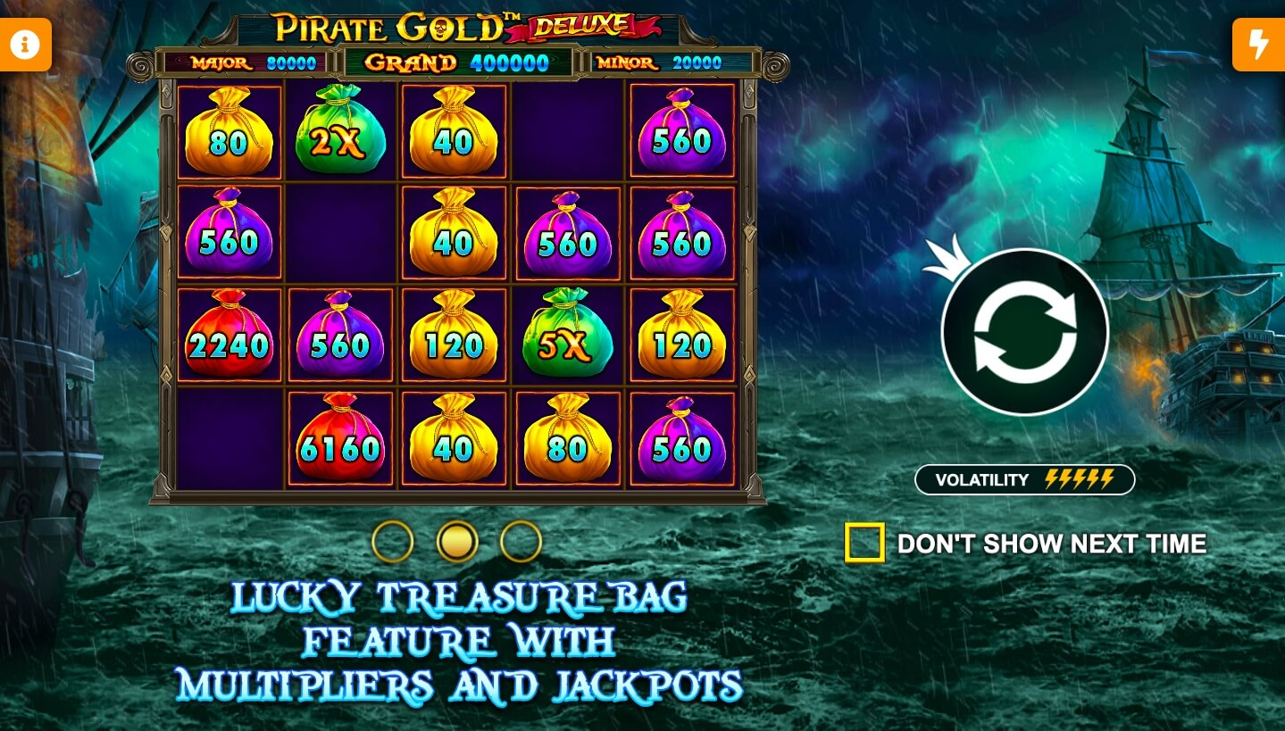 Pirate Gold Deluxe feature