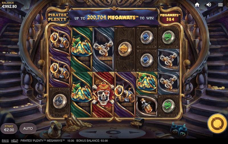 pirates plenty megaways slot review