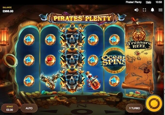 Pirates Plenty slot Red Tiger