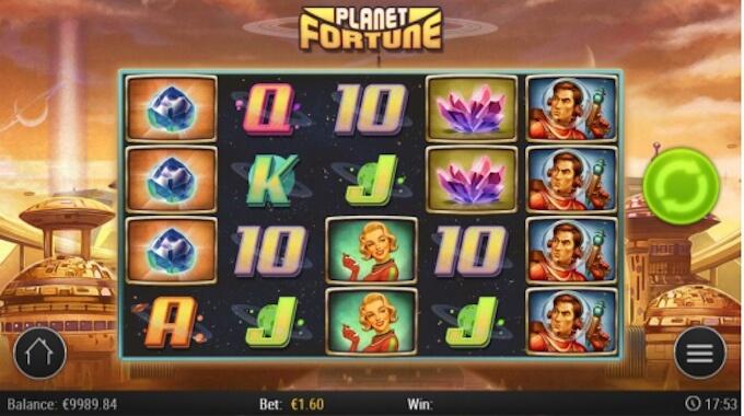Planet Fortune slot reels