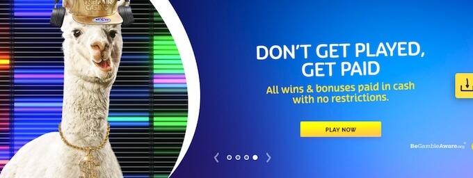 PlayOjo casino offers